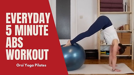 Everyday 5 Minute Abs Workout