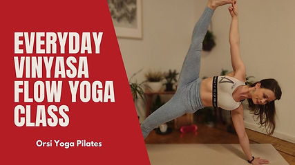 This is a solid level beginner-friendly vinyasa flow class to practice. Hope you enjoy the class