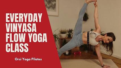 Everyday Vinyasa Flow Yoga Class | Beginner Friendly Flow