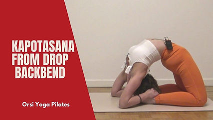Here is a fairly advanced mini combination on backbends