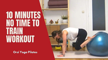 Here it is a solution for those who are in a rush and do not have time to perform a complete workout