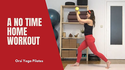 Here it is a solution for those who are in rush and do not have time to perform a complete workout.