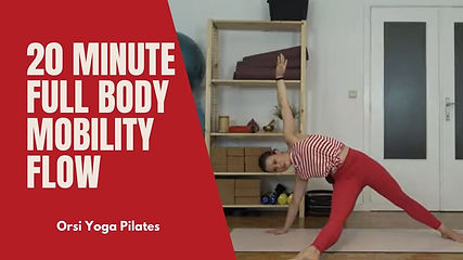 20 Minute Full Body Mobility Flow