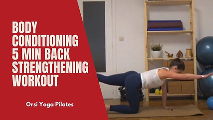 You can find simple and effective exercises here to strengthen your back.