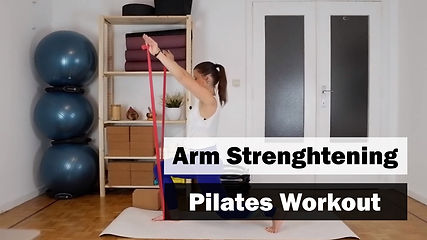 Pilates Tutorial: Arm Strengthening