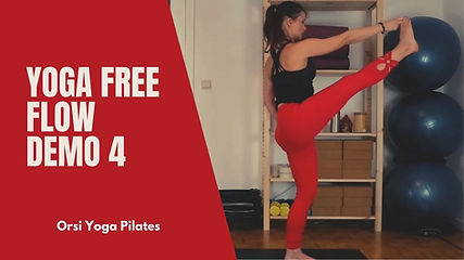 Yoga Free Flow Serie 4