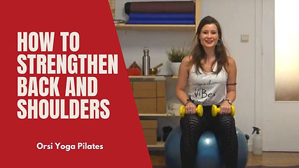 How to Strengthen Back and Shoulders - Body Shaping and Conditioning