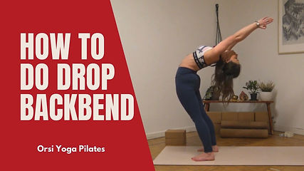 How to do Drop Backbend