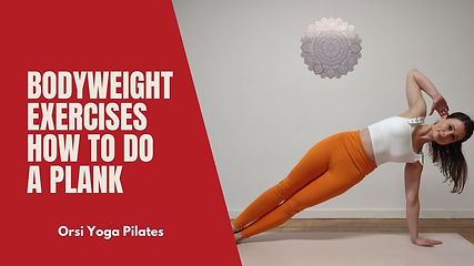 How to do the Plank | Bodyweight Exercises