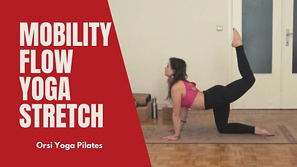 In this video, I provide a demonstration on how to mobilize your body and get more flexible and strong with a simple mobility flow. This sequence is based on Pilates and Yoga. It can be followed by anyone, from beginner to strong practitioners.