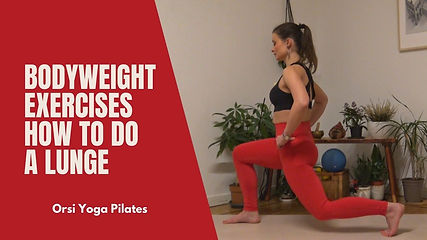 How to do the Lunge | Bodyweight Exercises
