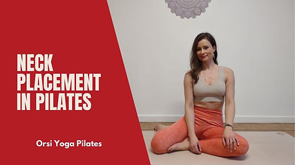Pilates Fundamentals | How to Place your Neck