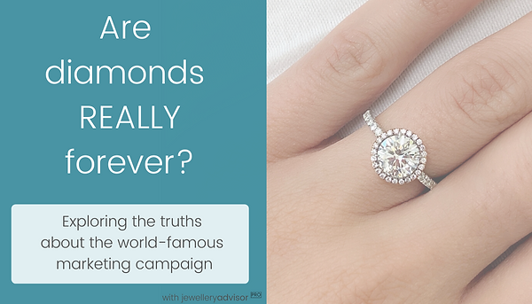 """Webinar on the durability of diamonds - answers the question """"are diamonds really forever?"""". Find out how to destroy diamond with professional gemmologist Julia Griffith FGA in the online video lecture"""