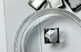 CVD synthetic diamond rough crystals unpolished