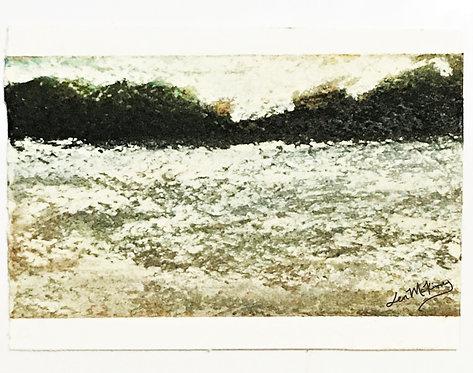 Columbia - Miniature Landscape Painting