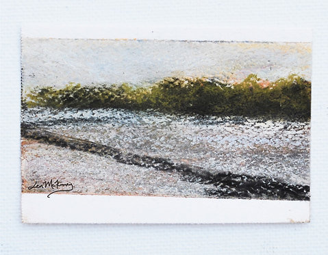 First Snow - Miniature Landscape Painting