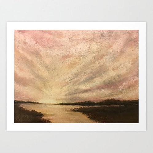 Grey's Creek - Giclée Print