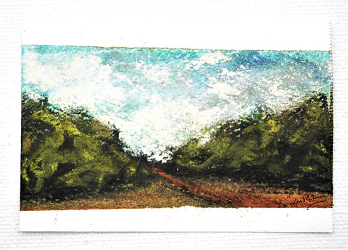 Olive Branch - Miniature Landscape Painting