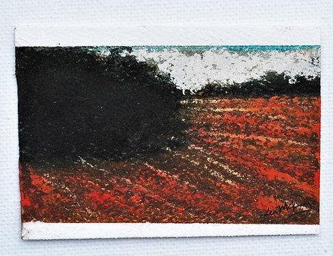 Selma - Miniature Landscape Painting