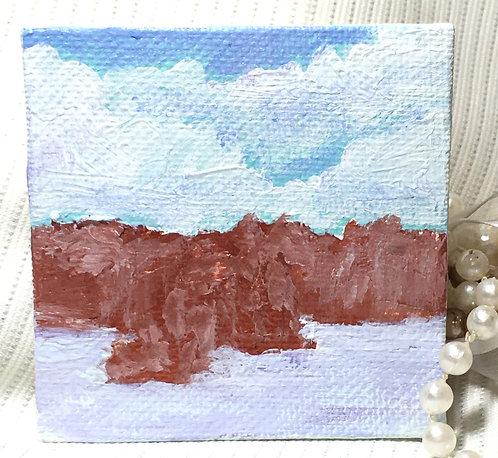 Still, Still, Still - Miniature Landscape Painting