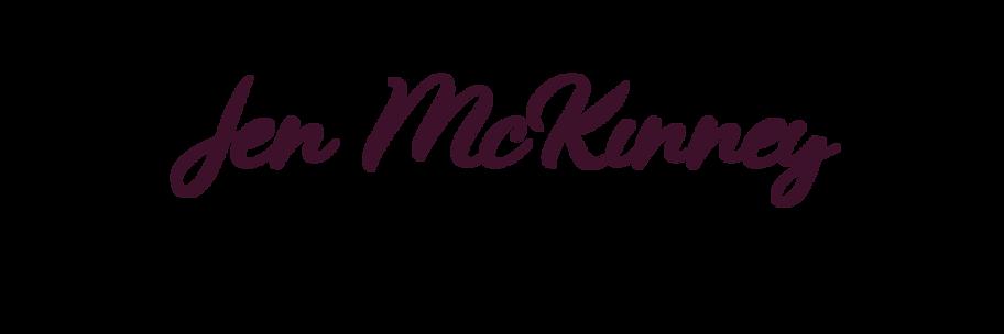 Jen McKinney Fine Art Name Plate 4x6 Pur