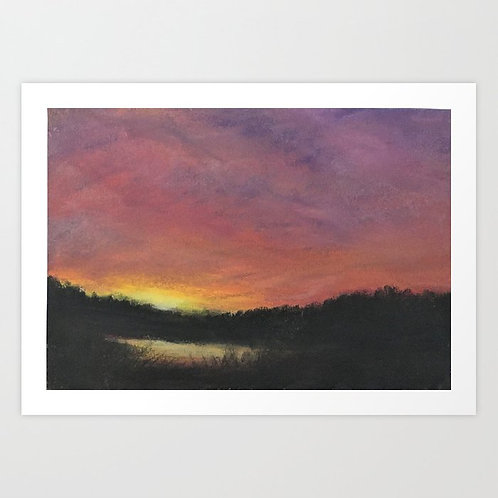 McKenzie Highway - Giclée Print