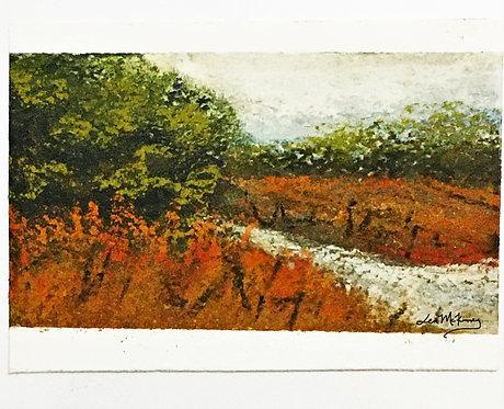 Hogan's Branch - Miniature Landscape Painting