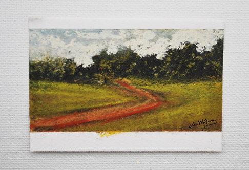 Copperline - Miniature Landscape Painting