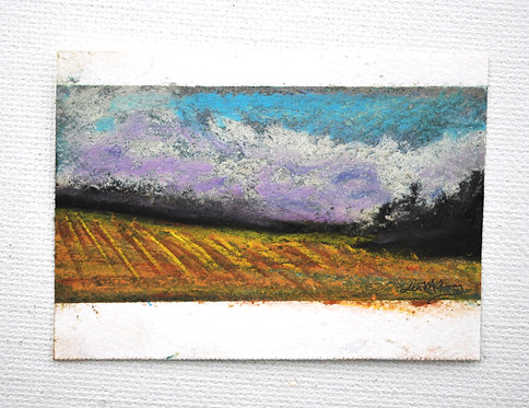 Haywood County - Miniature Landscape Painting