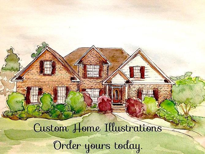 Custom Home Illustrations Open Call for