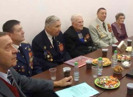 Встреча ветеранов организации «Последний военный призыв» 25 октября в помещении АНО «Социально-культ