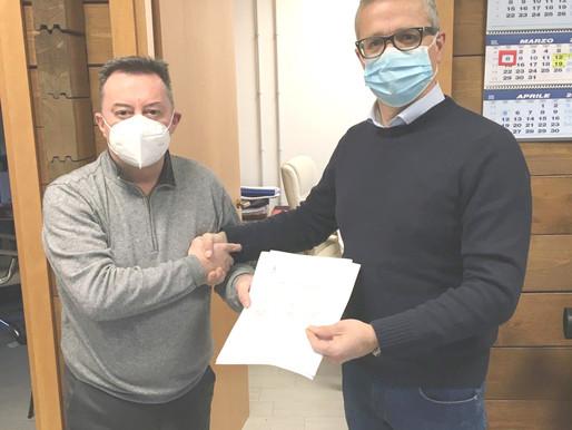 Ferrera diventa il primo Comune senza amianto. Acta pronta ad allargare il progetto al territorio