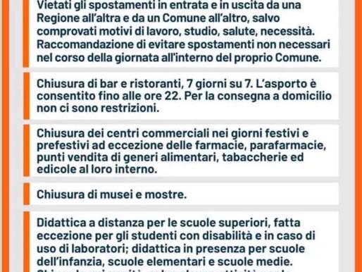 """Da domani la Lombardia torna """"arancione"""""""