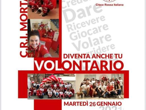 A.A.A. La Croce Rossa cerca nuovi volontari