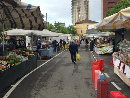 Domani c'è il mercato di San Silvestro, ma solo per i generi alimentari