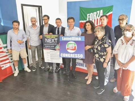 Forza Italia prova la rinascita: sabato a Lomello il primo congresso della Lomellina