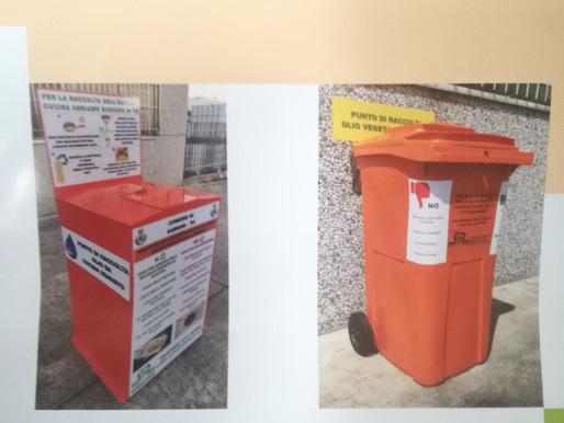 Si raccoglie l'olio: le istruzioni (e i cassonetti) costano oltre 7mila euro