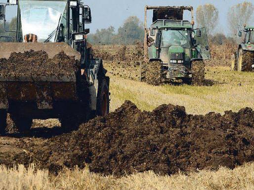 Agricoltura, per la Regione i gessi sono come i fanghi: dovranno essere tracciati
