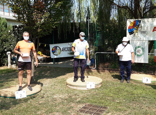 Tiro con l'arco: per i Telemachos podio di Roberto Aldrigo a Settimo Torinese