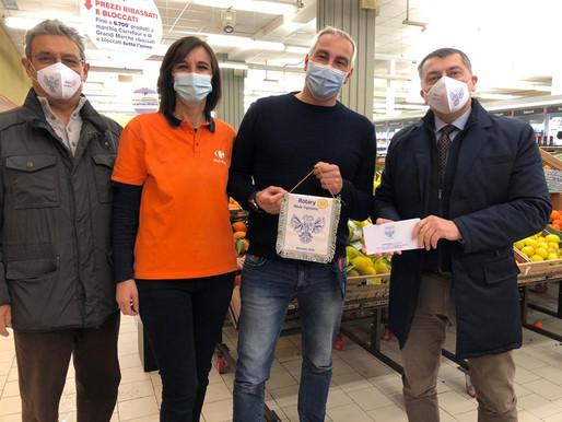 Rotary, dal club Mede Vigevano duemila euro di buoni spesa per 20 famiglie