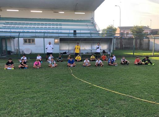 Pro Mortara a forza 3: ginnastica, volley e calcio. Tutti già al lavoro