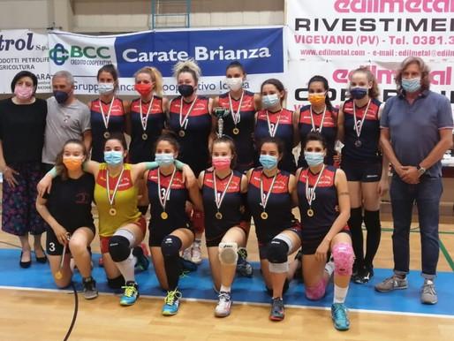 Volley, la Virtus è campione provinciale. Stasera in casa l'assalto al titolo regionale