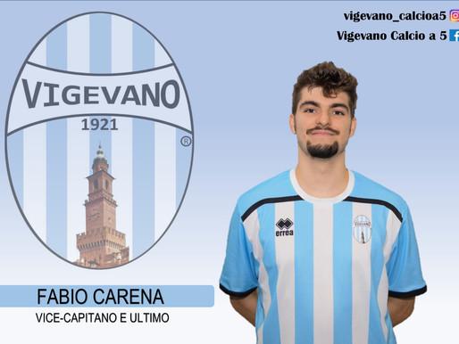 "#Focus...5: Fabio Carena, il ""Warrior"" in forza al Vigevano calcio a 5"