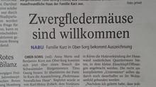 Wir sind in der Zeitung...