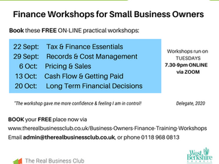 Finance Workshops for Small Business Owners