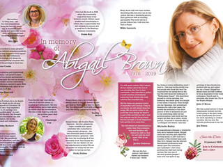 Tribute to Abigail Brown
