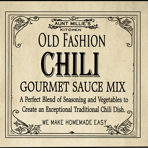 Old Fashion Gourmet sauce mix
