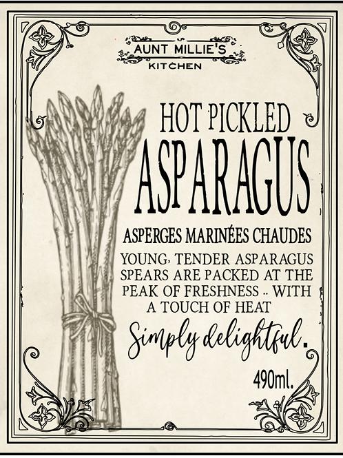 Hot Pickled Asparagus