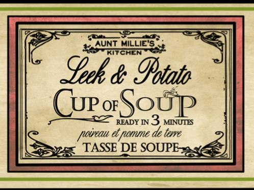Leek and Potato jar 10 servings