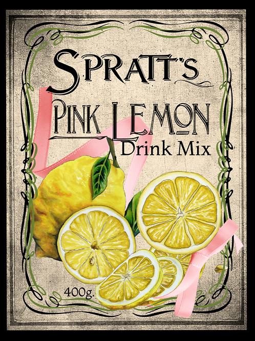 Pink Lemon Drink Mix